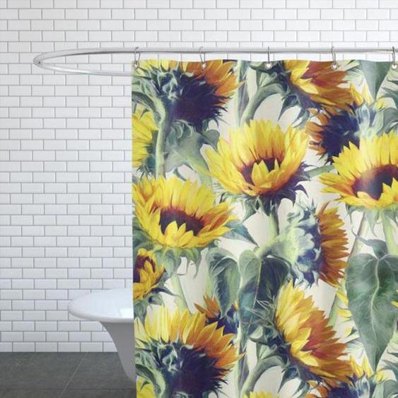 Sunflowers Forever-Duschvorhang
