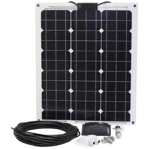 SUNSET Set: Solarstrom-Set für Boote, Yachten oder Caravan, 50 Watt