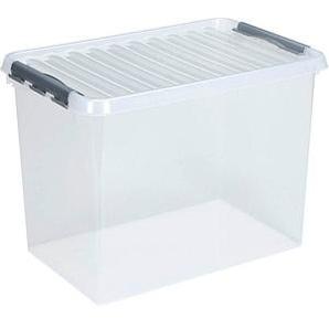 sunware Q-line Aufbewahrungsbox 62,0 l transparent 60,0 x 40,0 x 34,0 cm