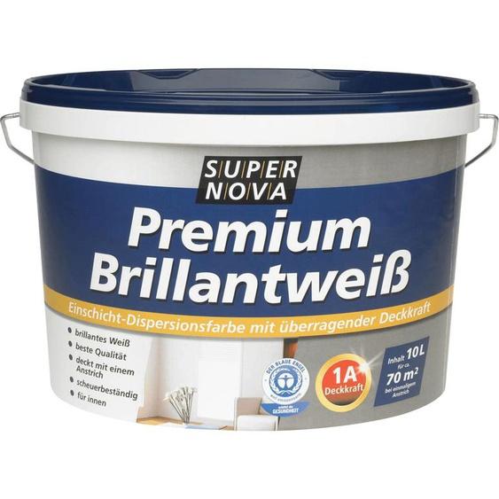 Supernova Farben Premium Brillantweiß 2,5 l