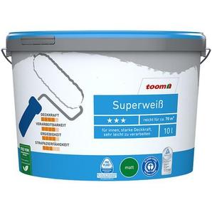 Superweiß 10 Liter konservierungsmittelfrei