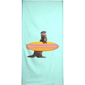 Surfing Otter - Handtuch
