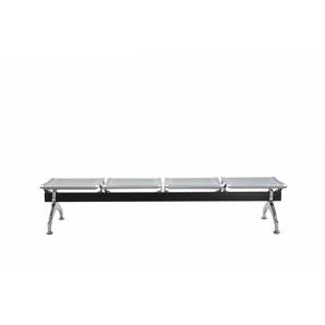 Sververud Office Chair - Modern - Silver - Metal - 151 cm x 45 cm x 39 cm
