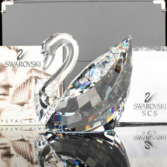 Swarovski Figurine Giant Soulmates Swan Maxi 189254