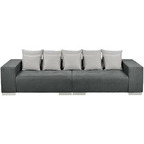 switch Big Sofa dunkelgrau - Mikrofaser Max ¦ grau ¦ Maße (cm): B: 300 H: 85 T: 136 Polstermöbel  Sofas  Big-Sofas » Höffner