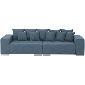 switch Big Sofa  Max ¦ blau ¦ Maße (cm): B: 300 H: 85 T: 136
