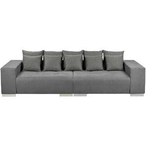 switch Big-Sofa grau - Mikrofaser Max ¦ grau ¦ Maße (cm): B: 300 H: 85 T: 136 Polstermöbel  Sofas  Big-Sofas » Höffner
