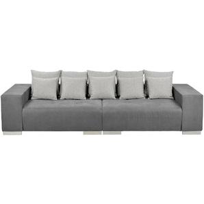 switch Big-Sofa  Max ¦ grau ¦ Maße (cm): B: 300 H: 85 T: 136