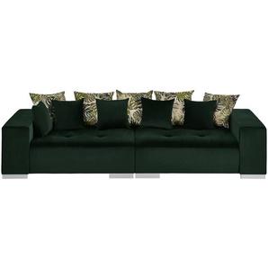 switch Big Sofa grün - Mikrofaser Kim ¦ grün ¦ Maße (cm): B: 300 H: 85 T: 136 Polstermöbel  Sofas  Big-Sofas » Höffner