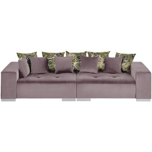 switch Big Sofa  Kim | rosa/pink | 300 cm | 85 cm | 136 cm | Möbel Kraft