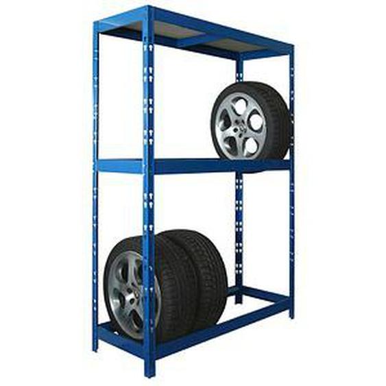 SZ Metall Reifenregal blau