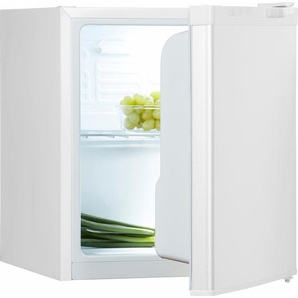 Kühlschrank, 51 cm hoch, 43,5 cm breit, Energieeffizienz: A+, weiß, Energieeffizienzklasse: A+, Hanseatic