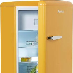 Kühlschrank KS 15614 S, gelb, Energieeffizienzklasse: A++, Amica