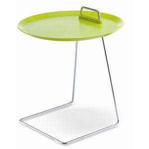Tablett-Tisch Porter grün, Designer Designstudio speziell®, 52 cm