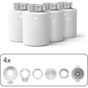 Tado Heizkörperthermostat »Smartes Heizkörper-Thermostat - Quattro Pack, Zusatzprodukte für Einzelraumsteuerung«, (1 St)