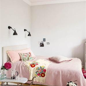 Tagesdecke Artemis - Creme/Rosa - 100 % Baumwolle - Tagesdecken & Quilts - Überwürfe & Sofaüberwürfe