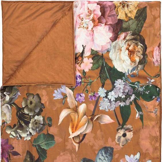 Tagesdecke »Fleur«, Essenza, im tollen Blumendesign