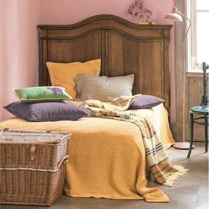 Tagesdecke gelb - bunt - 100 % Baumwolle - Tagesdecken & Quilts - Überwürfe & Sofaüberwürfe