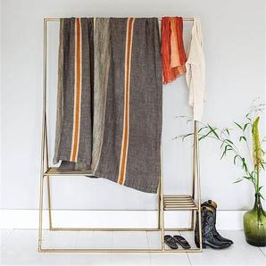 Tagesdecke Landart - bunt - 100 % Leinen - Tagesdecken & Quilts - Überwürfe & Sofaüberwürfe