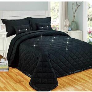 Tagesdecken-Set Jaidyn mit passenden Kissenhüllen