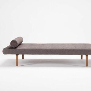 Tagesliege Napper Wood Innovation Living grau, Designer Per Weiss, 35x80x0 cm