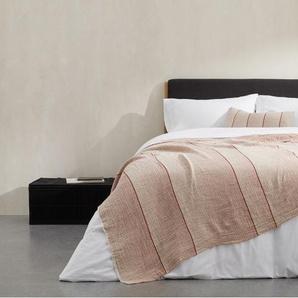 Tallis Kissen (35 x 50 cm) aus Bio-Baumwolle, Terracotta