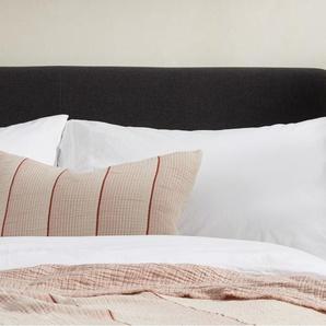 Tallis Tagesdecke (150 x 200 cm) aus 100 % Baumwolle, Terracotta