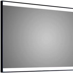 TALOS Komplett-Set: Badspiegel »BLACK SHINE«, mit LED Beleuchtung