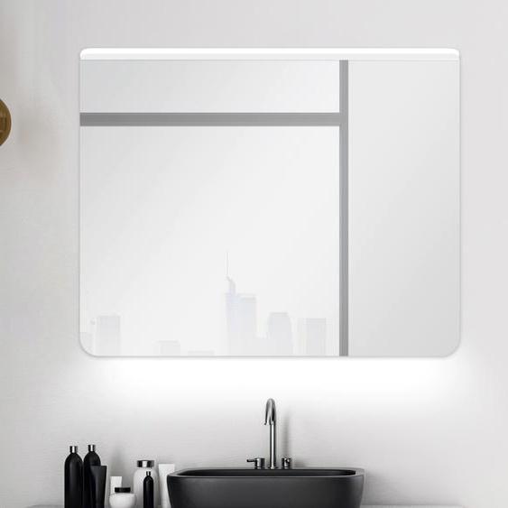 Talos Badspiegel Case B/H: 80 cm x 60 weiß und Spiegelschränke Badmöbel Badaccessoires SOFORT LIEFERBARE Möbel