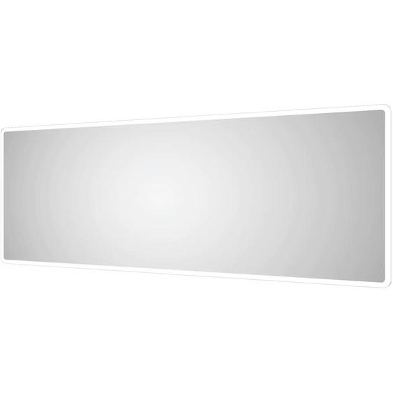 Talos Badspiegel Moon, 180 x 70 cm, Design Lichtspiegel Einheitsgröße silberfarben und Spiegelschränke Badmöbel Badaccessoires SOFORT LIEFERBARE Möbel
