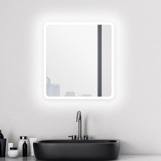 Talos Badspiegel »Talos Moon«, 40 x 45 cm, Design Lichtspiegel