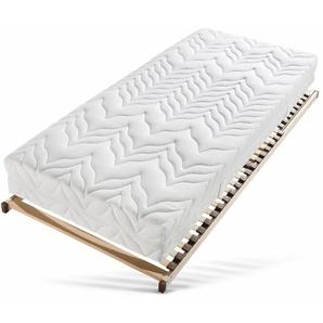 Taschenfederkernmatratze + Lattenrost »Tendenz K«, Breckle, 1000 Federn, (Set), inkl. Lattenrost (28 L) mit Kopftverstellung - das perfekt abgestimmte Schlafsystem für jeden Geldbeutel
