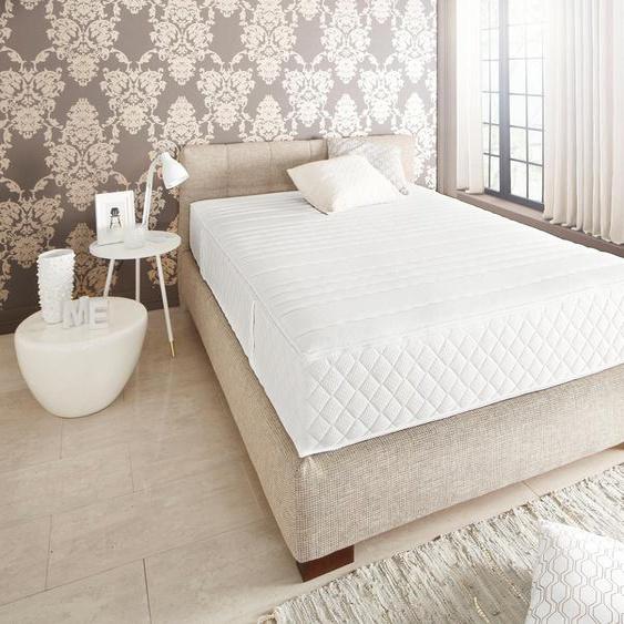 Taschenfederkernmatratze »ProVita Relax 1.000 T«, f.a.n. Schlafkomfort, 30 cm hoch, 1034 Federn, mit Frottee Bezug