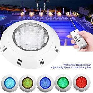 Tauch LED Licht 30 Watt RGB 300 LED Multi Color Wasserdichte Unterwasserscheinwerfer Nachtlicht Lampe mit Fernbedienung für Schwimmbad Beleuchtung