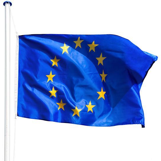 Tectake Aluminium Fahnenmast Europa