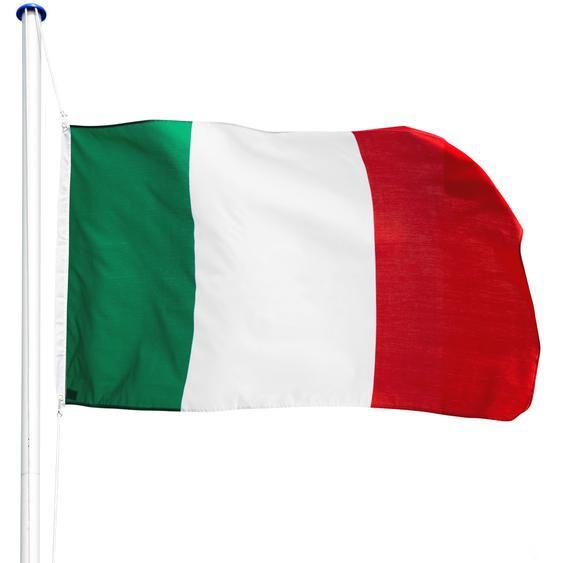 Tectake Aluminium Fahnenmast Italien
