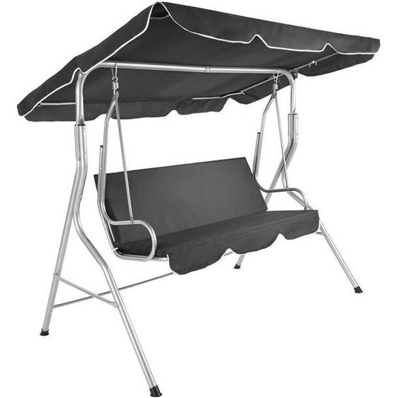 TecTake Garden Swing Seat Standing Grey
