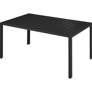 Tectake Gartentisch Simona schwarz