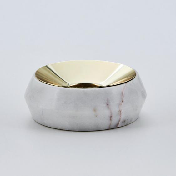Teelichthalter  Adarette Lichtschale aus Marmor