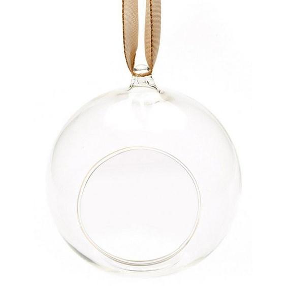 Teelichthalter »Hängeteelichthalter« (Set, 2 Stück), aus Glas, Ø 11,5 cm