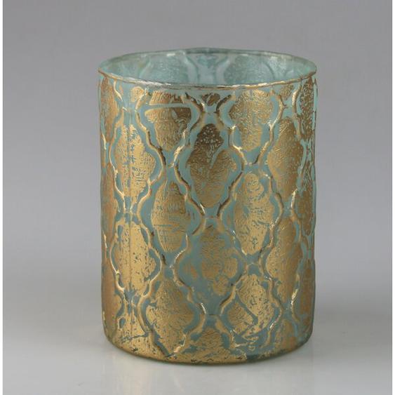 Teelichthalter-Set aus Glas (Set of 3)