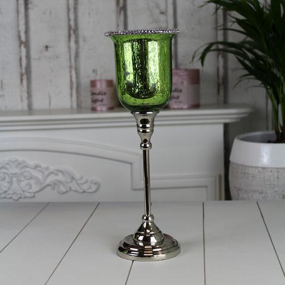 Teelichthalter-Set aus Glas