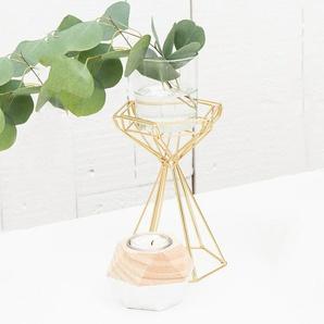 Teelichthalter-Set aus Holz