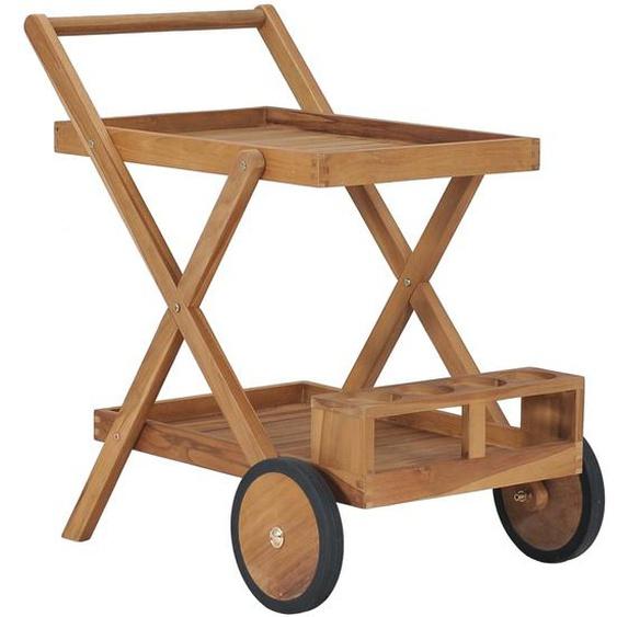 Teewagen Massivholz Teak