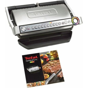 Tefal Kontaktgrill GC722D OptiGrill+ XL, 2000 W, 2000 Watt