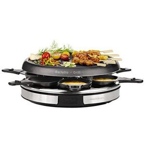 Tefal RE127812 Raclette-Grill, Edelstahl