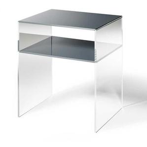 Telefontisch aus Acrylglas Dunkelgrau