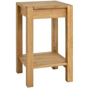 Telefontisch aus Eiche Massivholz 60 cm hoch