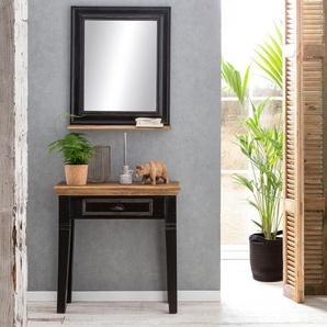 Telefontisch »Corsica«, schwarz, FSC®-zertifiziert, SIT-Möbel