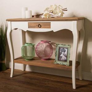 Telefontisch im Shabby Chic Design 90 cm